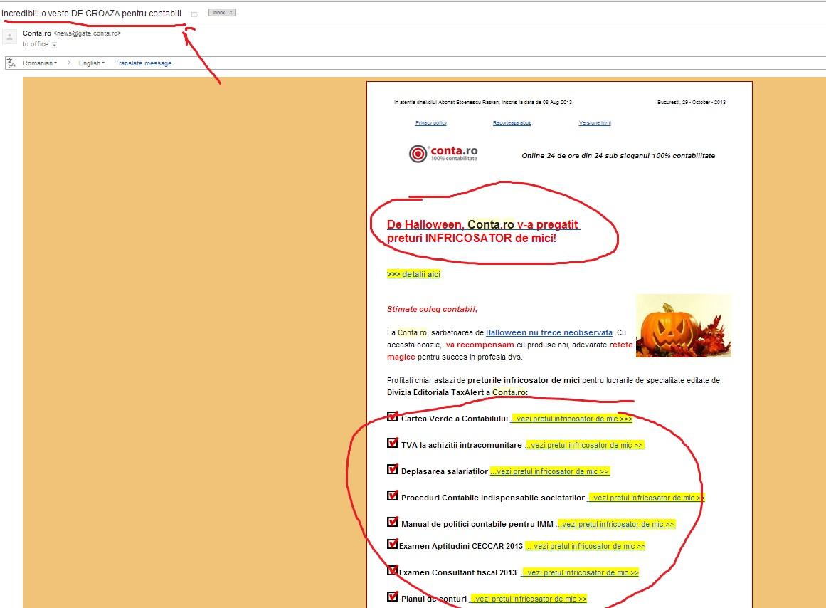 Incredibil!: Conta.ro a devenit un site de groaza pentru contabili